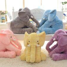 Cartoon Big Size Plush Elephant Toy Kids Sleeping Back Cushion Stuffed Pillow