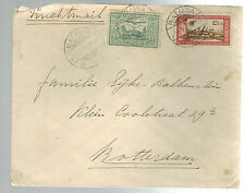 1931 Batavia Netherlands indies airmail cover to Holland