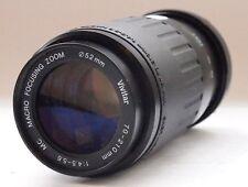 Vivitar 70-210mm f4.5-5.6 messa a fuoco macro Nikon AI-S Lente Stock No. u7142