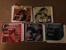 Romantic 5 cd lot:The Kiss, Soft Touch, Night Out, Amour, Moonlight