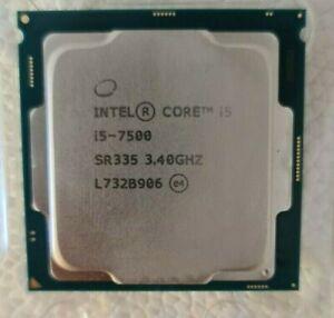 Intel® Core™ i5-7500 Processor Gaming