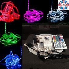 5M Colour Changing Kitchen Cupboard Island Led Light Lighting RGB Remote Kit