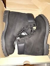 Timberland 6 Inch Premium Black Waterproof Boots Size UK 7 EU 40 NEW