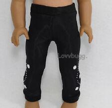 """Black Flowers Leggings Doll Pants for 18"""" American Girl Doll Found it! Lovvbugg!"""