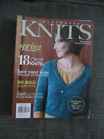 Interweave Knits Spring 2012- Mellow or Modern Lace, Graphic Knits, & More!