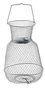 New Floating Wire Long Lasting Fish Basket Container Catch Trap Holder Equipment