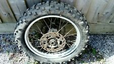 "KTM 200 EXC 1998 Complete Rear 18"" Wheel with Michelin Comp 3 Tyre - USED"