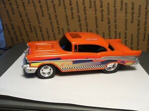 """HOT WHEELS - RED '57 Chevy Bel Air 9"""" Battery Operated No Remote"""