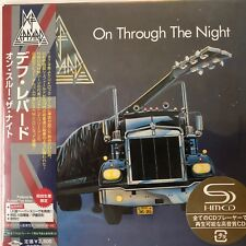 On Through the Night by Def Leppard (SHM-CD. jp. mini LP) 2008 UICY-93450  Japan