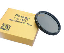 58mm Super Slim Fader ND Filter ND8-ND800 MRC Multi-Coated Canon Nikon Sony Lens