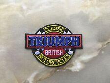 Aufnäher Patch Motorradcross Triumph Tuning Racing Motorradsport Biker Race FX