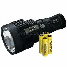 Nitecore TM38 Lite 1800 Lumen Long Throw Flashlight with 4x 18650  Batteries