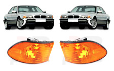 FOR BMW 7 SERIES 99-01 E38 FRONT BUMPER SIDE INDICATOR REPEATER ORANGE PAIR SET