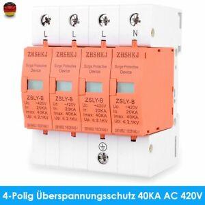 DHL Blitz- Überspannungsschutz, Kombiableiter 4-polig, 40kA, AC 420V