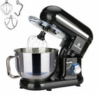 6 Speed Control Electric Stand Mixer 5.8QT with Stainless Steel Mixing Bowl Food