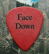 Van Halen Sammy Hagar Face Down alternate version red guitar pick