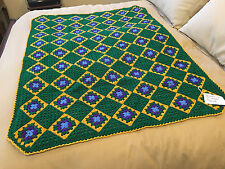 Handmade Afghan / Throw Blanket - Designer Collection - Granny's Midas Touch