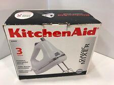KitchenAid KHM312WH Classic 3-Speed Hand Held Mixer - White