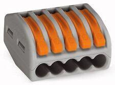 Wago 222-415 LEVER-NUTS 5 Conductor Compact Connectors 400 PK