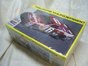 1/24 MONOGRAM 1990 #6 FOLGERS T-BIRD NASCAR MODEL KIT-SEALED
