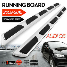 Fit For 2009-2015 AUDI Q5 SS Running Boards Side Steps Side Bars Sport Style