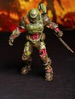 "Doom Eternal Zombie Doom Slayer Statue Figure Rip & Tear 8"" Polyresin Doomguy"