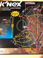 KNEX LOOPIN' LIGHTNING ROLLER COASTER 622 PIECES COMPLETE