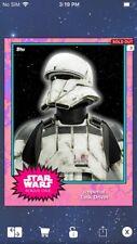Topps Star Wars Digital Card Trader ? Tank Driver S4 Base Variant Insert