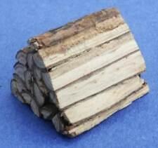 Miniature Dollhouse Fireplace Logs 1:12 Scale New