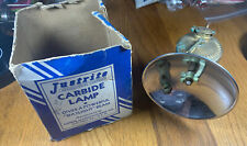 Vintage Justrite Carbide Lamp With The Box