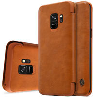 For Samsung Galaxy S9/S9 Plus Shockproof Flip Card Slot Wallet Leather Case