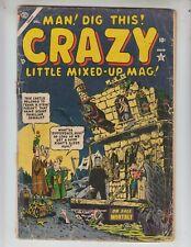 Crazy #1 G+ (2.5) 12/53 Atlas! Bill Everett cover and art!