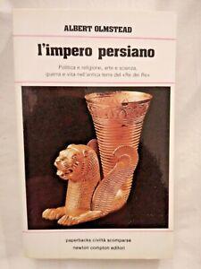 L'IMPERO PERSIANO di Albert Olmstead 1982 Newton libro usato storia sull
