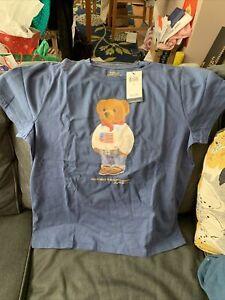 ralph lauren polo bear t shirt Women's L