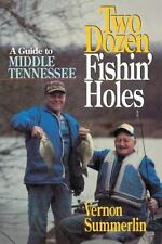 Two Dozen Fishin' Holes A guide to Middle Tennessee Fishing-ExLibrary