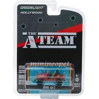 GREENLIGHT 44840 C THE A-TEAM TV SERIES JEEP CJ-7 1/64 DIECAST MODEL CAR RED