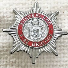 Sunderland - Fire Brigade cap badge.