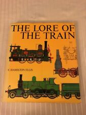 1981 The Lore Of The Train Hamilton Ellis Railroad Photographs History Steam