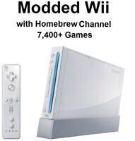 Homebrew Modded Nintendo Wii +7,400 games