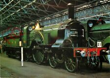 Picture Postcard:-PATRICK STIRLING 4-2-2 LOCO, GREAT NORTHERN RAILWAY