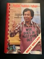 """""""Wok With Yan"""" ~ Stephen Yan-Oriental-Chinese-Cooking-Recipe Television Cookbook"""