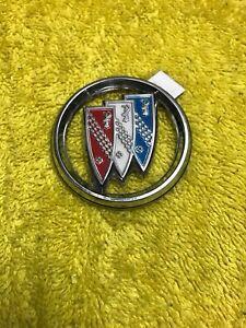 1970s Vintage Buick Tri-Shield Sail Panel Emblem OEM Skylark