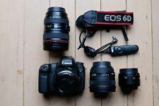 Canon EOS 6D 20.2 MP Digital SLR Camera - Black - FULL STARTER KIT.