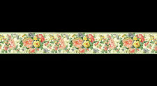 Bouquet Floral Papier Peint Bordure (22.9 cm x4.57m)