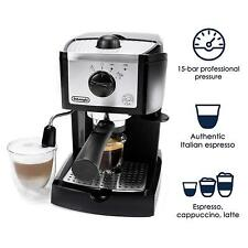 DeLonghi 15 BAR Pump Espresso Cappuccino Maker Latte Frother Self Priming Pods