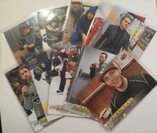 2019-20 UD CANVAS LOT OF 10 - NUMBERS IN DESCRIPTION