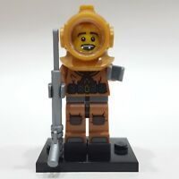 """LEGO Collectible Minifigure #8833 Series 8 """"DIVER"""" (Complete)"""