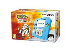 Luz Azul Pokemon Sun pre-instalado-Nintendo 2DS-Nuevo y Sellado