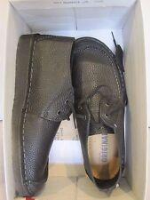 Clarks Originals Seam Trek Men's L-Stitch Black Leather Casual Shoes 26113256