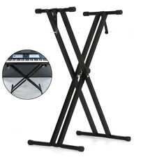 More details for x-frame keyboard double stands beam single beam music electronic keyboard stand